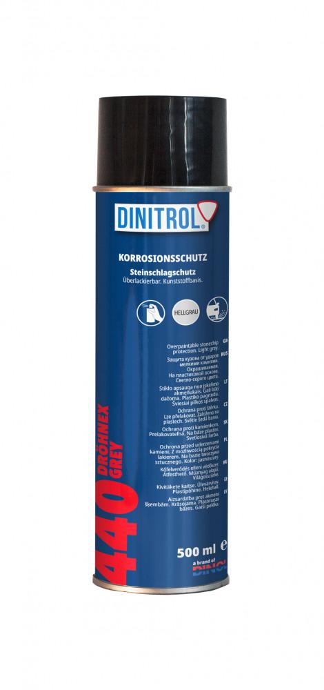 Kőfelverődés védő rücsi Dröhnex 440 spray szürke