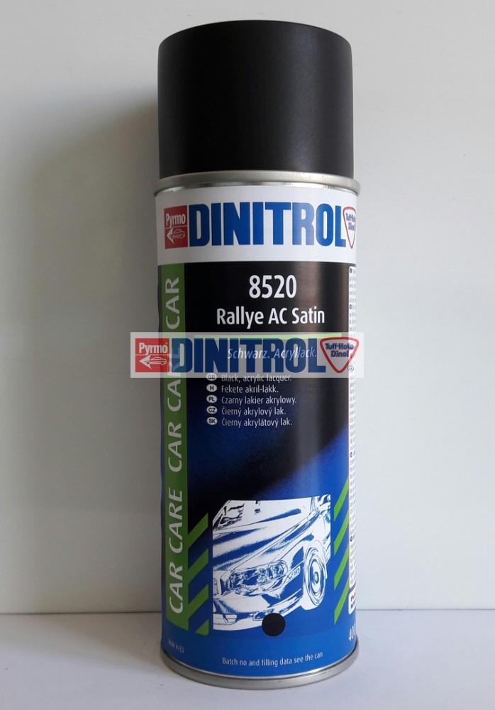 Fekete selyem matt spray 8520