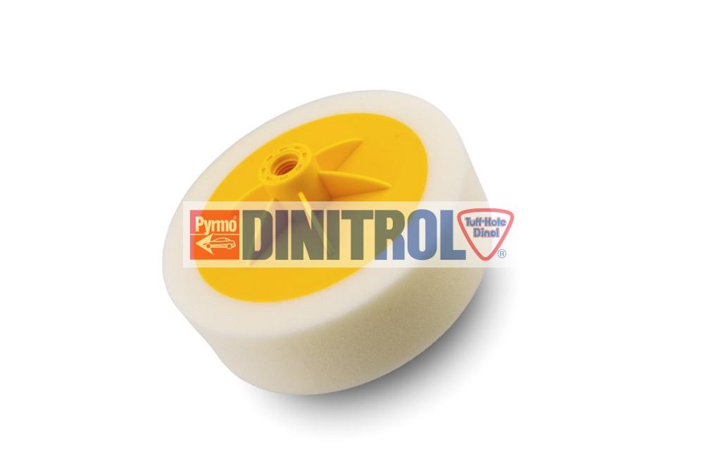Menetes polírkorong fehér tömör ECONOMY 150x50