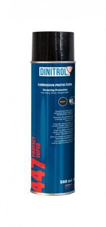 Kőfelverődés védő rücsi Protect 447 spray fekete