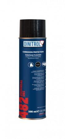 Alvázvédő Universal 482 spray fekete