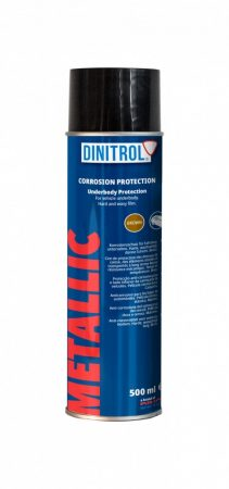Alvázvédő spray DINITROL Metallic 500 ml