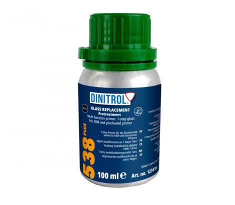 Szélvédőragasztóhoz tisztító-alapozó DINITROL 538 PLUS 100 ml