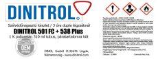 Szélvédőragasztó készlet 501 FC + 538 Plus 30 ml