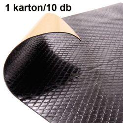 Zajcsillapító lap 50 x 50 cm x 2 mm SemySeal 5001 rácsos 1 karton/10 db
