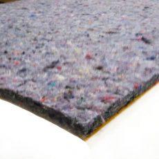 Hangszigetelő lap préselt textil 150x100x1 cm öntapadó