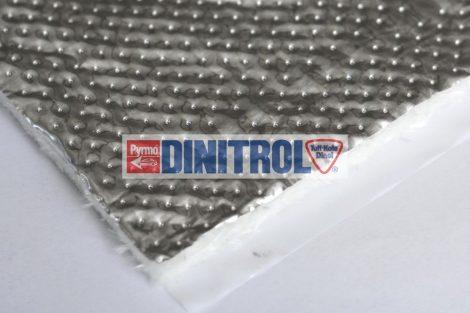 Hőszigetelő anyag ALU bevonat 550°C 1600 x 1000 x 7 mm öntapadó