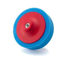 Menetes polírkorong kék középfinom 150x50