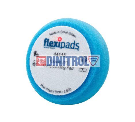 Tépőzáras kék polírozó korong közép finom 150x50