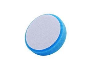 Tépőzáras kék polírozó korong középfinom 80x25
