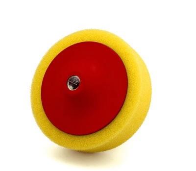 Menetes polírkorong sárga durva 150x50