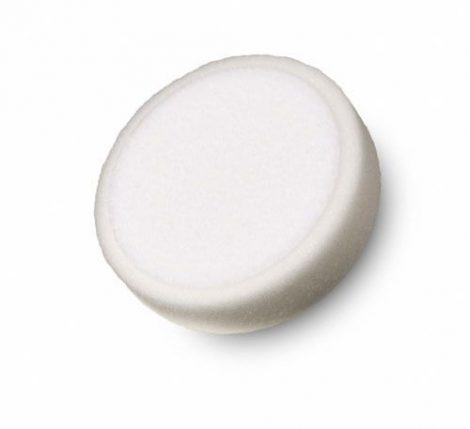 Tépőzáras fehér polírozó korong tömör 80x25