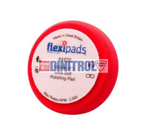 Tépőzáras piros polírozó korong extra finom 150x50