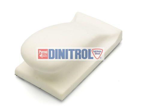 Kézi felfogató pad lágy125 mm ergonomikus tépőzáras