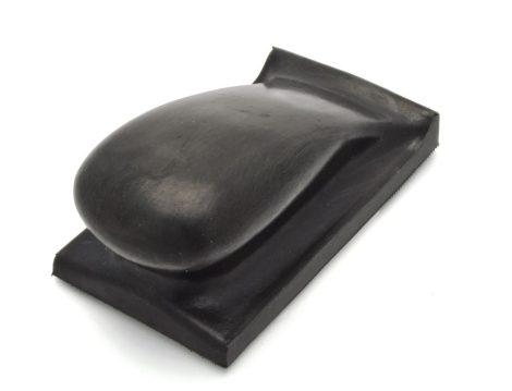 Kézi felfogató pad kemény125 mm ergonomikus tépőzáras
