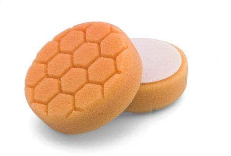 Tépőzáras narancssárga szivacs durva méhsejt 135